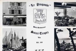 CPSM SAINT TROPEZ HOTEL LE PINGOUIN - Saint-Tropez