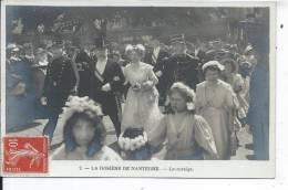 LA ROSIERE DE NANTERRE - Le Cortège - CARTE PHOTO - Nanterre