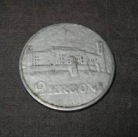 Silbermünze Silver Coin Estland Estonia Estonie 1930 Domberg - Estonie