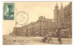 Carte De La / De Panne ( La Digue ) Belgique + Yvert N° 386,35 C Vert Exposition Universelle De Bruxelles 1935; 1934, TB - 1935 – Brüssel (Belgien)