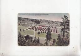 Z13478 General View Of Modern Woodmen Of America Sanatorium Colorado Springs     2 Scans - Colorado Springs