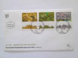 ISRAEL1983 MODERN SETTLEMENTS   FDC - Israel