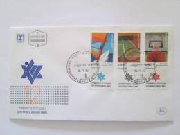 ISRAEL1985 12TH MACCABIAH SPORTS  FDC - Israel