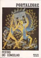 Portalegre - Festas Do Concelho De 1985 (3 Scans) - Boeken, Tijdschriften, Stripverhalen