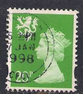 SCOTLAND GB 1997 20p Bright Green Machin SG S90..( K886 ) - Regional Issues
