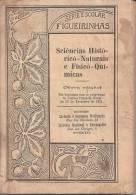 Figueirinhas - Série Escolar - Ciências Histórico-Naturais E Físico-Quimícas, 1921, Porto. Escola. - Schulbücher