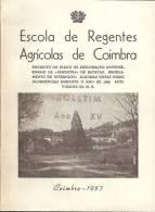 Coimbra - Escola De Regentes Agrícolas, 1957 (3 Scans) - Other