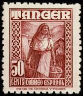 Tanger 159 ** Mujer. 1948 - Marruecos Español