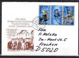 DDR  Brief   Mit  3252 - 3253 - DDR