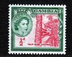 British Gambia 153  * PALM WINE - Gambia (...-1964)