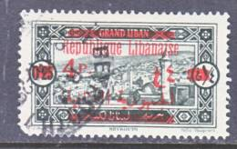 Great Lebanon  104   (o) - Great Lebanon (1924-1945)