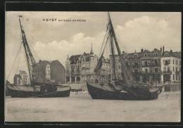 CPA Heyst, Bateaux Au Repos, Schiffe - Belgique