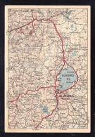 E-EU-65 POST BLANK LATVIA MAP - Lettonie