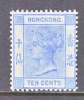 Hong Kong  45    * - Unused Stamps