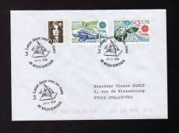 Lettre Avec CàD 68 RIQUEWIHR La Lettre Dans Tous Ses états Du 28/04/2001 - Réf A660 - Storia Postale