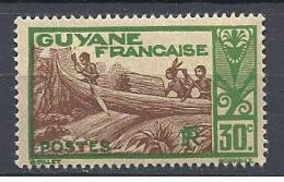 GUYANE PIROGUIERS N� 158 NEUF** LUXE