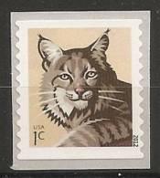 USA 2012 -  Lynx (autoadhésif) - Stati Uniti