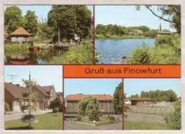 Finowfurt , Mehrbildkarte - Finowfurt