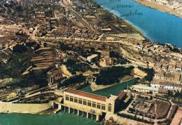 FLIX - Espana / Espagne - Central Hidroelectrica Y Fabrica EQF, Vista Aérea / Vue Aérienne Centrale Hydroélectrique - Edificios & Arquitectura