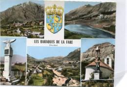CPSM 05 LES BARAQUES DE LA FARE MULTI VUES - Otros Municipios