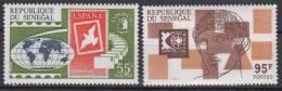 SENEGAL        1975        N°  412  / 413                COTE    3.90     EUROS          ( 701 ) - Senegal (1960-...)