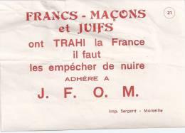 Papier Gommé, Guerre De 40 - Militaria