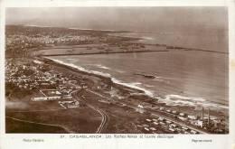 MAROC - CASABLANCA - Les Roches Noire Et L'usine Electrique - Casablanca