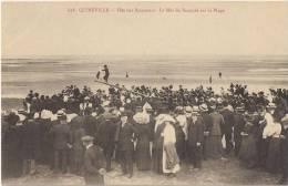 Quinéville - Fête Des Baigneurs - Le Mât De Beaupré Sur La Plage [1926/P50] - Autres Communes