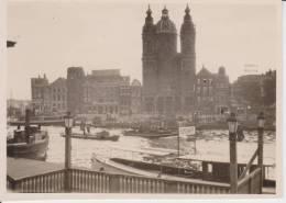 PHNL The Netherlands: Amsterdam St Nicholaaskerk - Canal 1930 - Historische Documenten