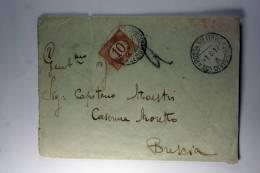 Italy: Cover Posta Militaire , 1917 Segnatasse 10 C Ocra - 1900-44 Vittorio Emanuele III