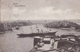 Malte - Malta - Grand Harbour - Port Steamer Voilier - Malte