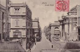 Malte - Malta - Strada Reale - Malta