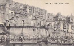Malte - Malta - Port Marché Aux Poissons - Malte