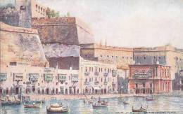 Malte - Malta - Illustration Tuck - Port - Malte