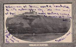 Hongrie -  Panorama Tihany -  Oblitération Csopak Bruggen St Gallen 1910 - Hungary
