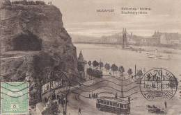 Hongrie - Budapest - Précurseur  - Panorama  - Tramway Automobile Bâteau Vapeur - Postmark 1913 - Hungary