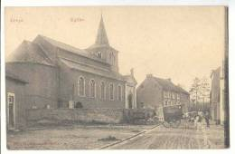 E1887 - Oreye - Eglise  *Attelage De La Boulangerie Edmond HENNEMANN* - Oreye