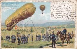 CPA SUISSE Schweiz Armée Genie Ballon Compagnie - Non Classés