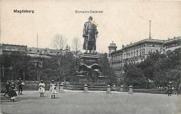 Avr13 105 : Magdeburg  -  Bismarck-Denkmal - Magdeburg