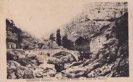 34) Minerve (Hérault)   Vallée Du Briant - Le Pont  Du  Moulin - France