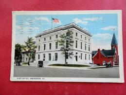 Kentucky > Owensboro Post Office  1929  Cancel   Ref 914 - Owensboro