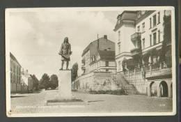 SWEDEN  KARLSKRONA  , MOMUMENT  STREET VIEW   , OLD  POSTCARD  ,m - Danzig