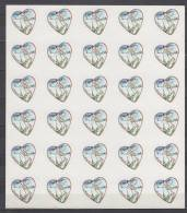 Saint Valentin -  Feuille Du N°  39  Neuf - Coeur 2004 De Karl Lagerfeld - Adhésifs (autocollants)