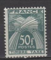 France Taxe N° 88 Luxe ** - Portomarken