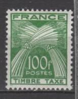France Taxe N° 89 Luxe ** - Portomarken