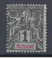GUYANE TYPE GROUPE N� 30 NEUF** TB