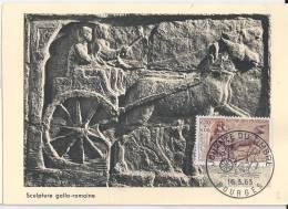 Carte Maximum Sculpture Gallo Romaine - Maximum Cards