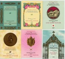 CARNET CROIX ROUGE **  N° 2012 à 2032 -  Complets De 1963 à 1983 - 21 Carnets - Neufs Sans Charniéres - Carnets