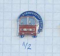 MERCEDES BENZ - AUTOBUS - ATP Auto Transport Of Skoplje (Macedonia) BUS Automobile Motoring, Voiture Car Auto - Mercedes