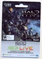 Halo - Reach  U.S.A. Game Online Card For Collection Without Value # 22 - Gift Cards